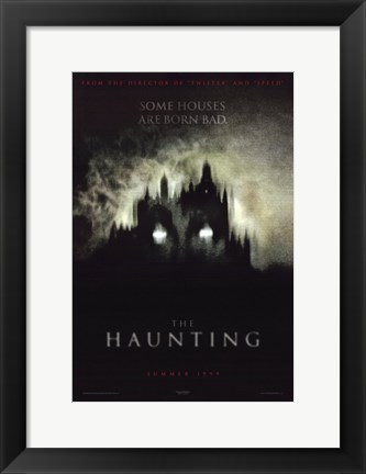 Framed Haunting Print