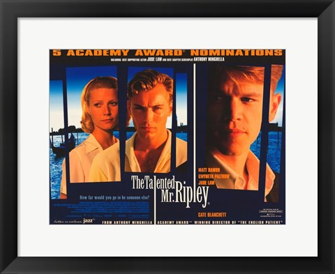 Framed Talented Mr. Ripley Print