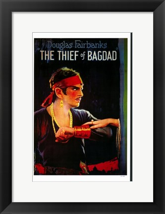 Framed Thief of Bagdad Print