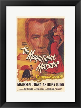 Framed Magnificent Matador Print