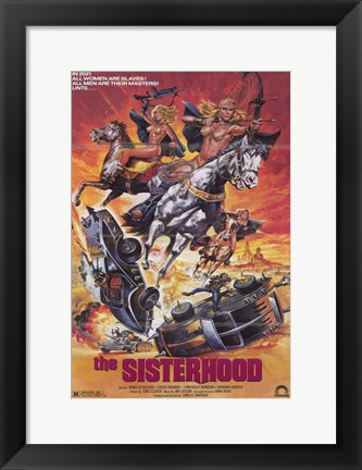 Framed Sisterhood Print
