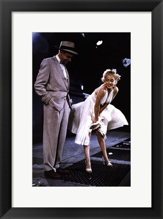 Framed Seven Year Itch - style E, c.1955 Print