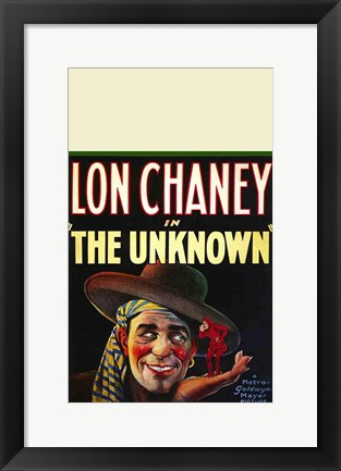 Framed Unknown - Lon Chaney Print