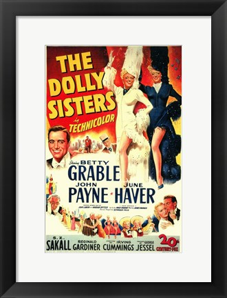 Framed Dolly Sisters Print
