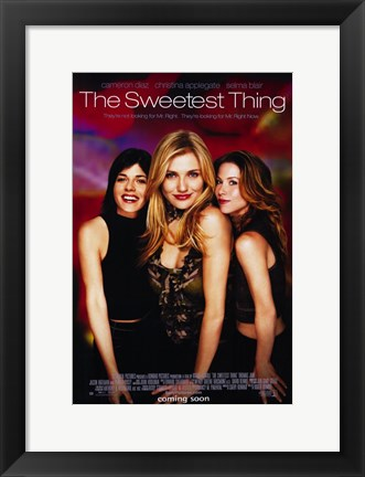Framed Sweetest Thing Print