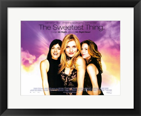 Framed Sweetest Thing Christina Applegate Print