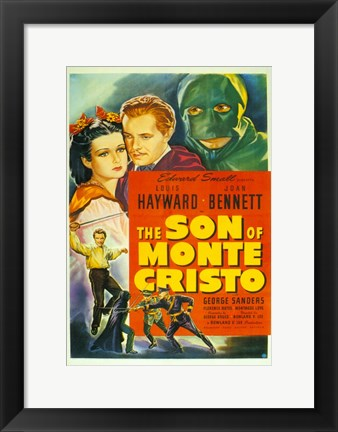 Framed Son of Monte Cristo Print