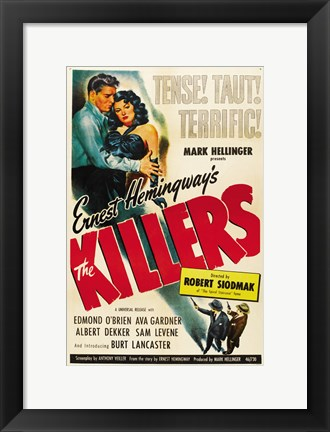 Framed Killers Robert Siodmak Print