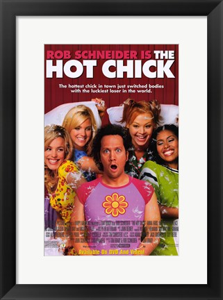 Framed Hot Chick Print