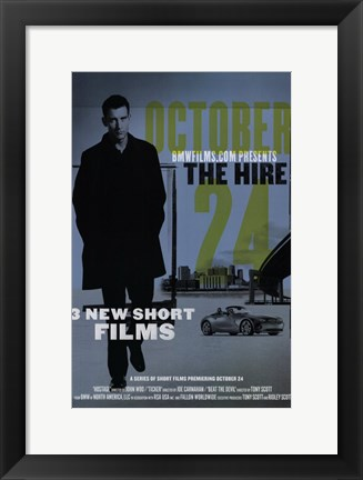 Framed Hire: Ticker Print