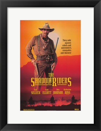 Framed Shadow Riders Print