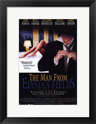 Framed Man from Elysian Fields Print