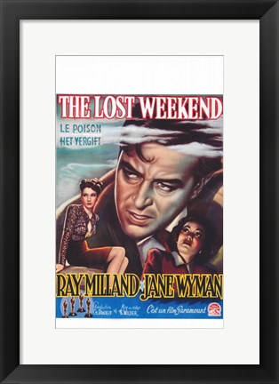 Framed Lost Weekend Print