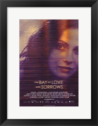 Framed Bay of Love and Sorrows Print