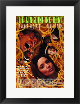 Framed Linguini Incident Print