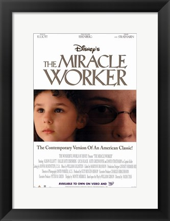 Framed Miracle Worker Print