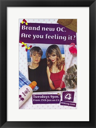 Framed O.C. - Are you feeling it Print