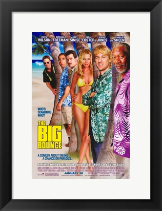 Framed Big Bounce Print