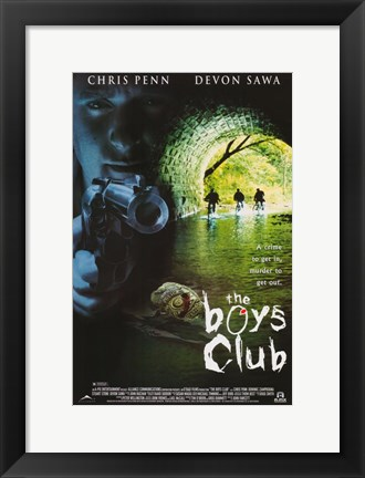 Framed Boys Club Print