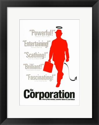 Framed Corporation Print