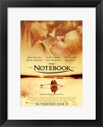 Framed Notebook In Theatres June 25 Print
