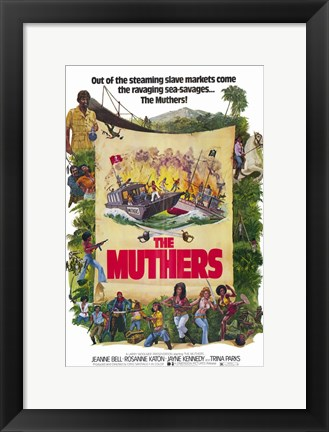 Framed Muthers Print