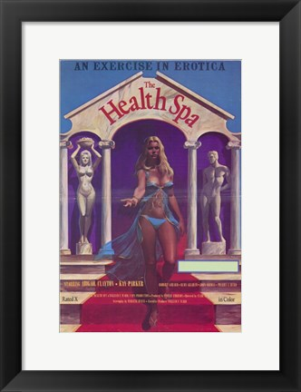 Framed Health Spa Print