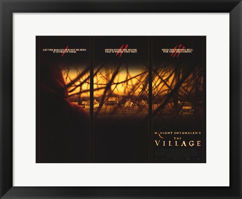 Framed Village (movie poster) Print