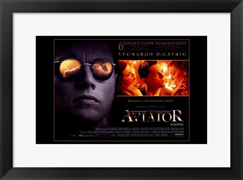Framed Aviator Movie Print