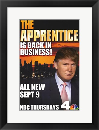 Framed Apprentice is back in business Print