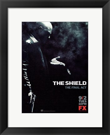Framed Shield - The final act Print