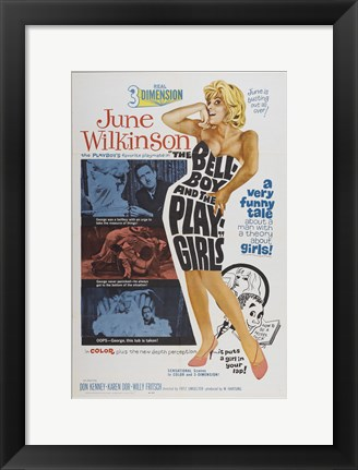 Framed Playgirls and the Bellboy Print