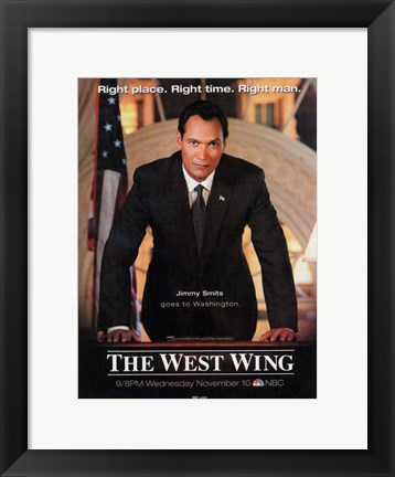 Framed West Wing (movie poster) Print
