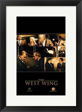 Framed West Wing Print