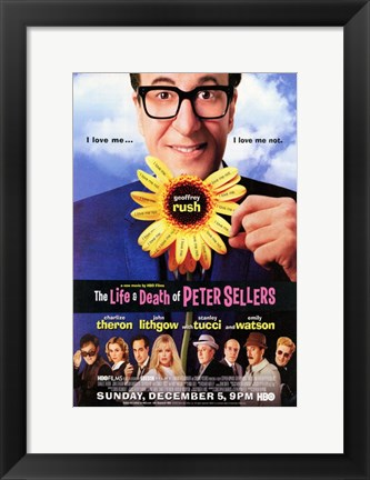 Framed Life and Death of Peter Sellers Print