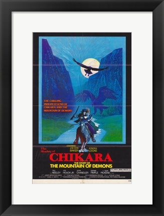 Framed Shadow of Chikara Print