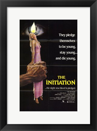 Framed Initiation Print