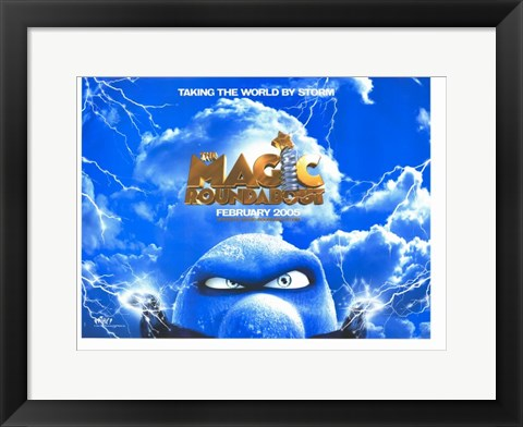 Framed Magic Roundabout Print