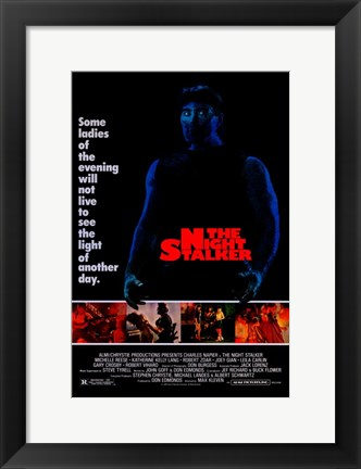 Framed Night Stalker Movie Print