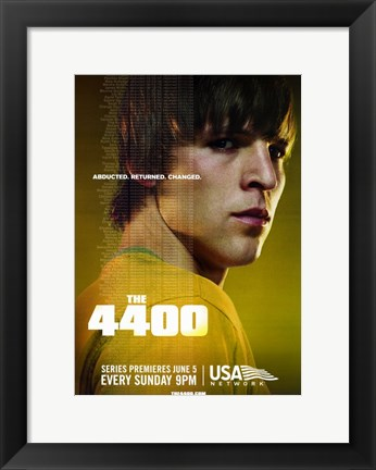 Framed 4400 - yellow Print