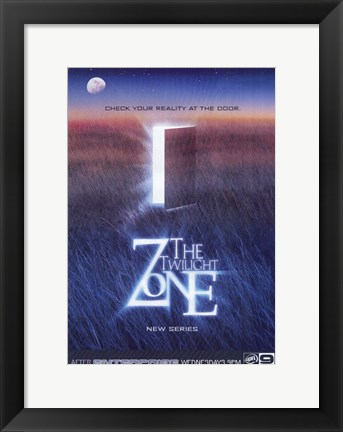 Framed Twilight Zone Print