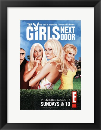 Framed Girls Next Door Print