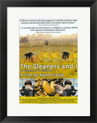 Framed Gleaners & I Print