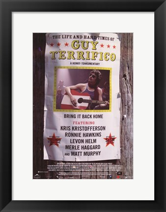 Framed Life and Hard Times of Guy Terrifico Print
