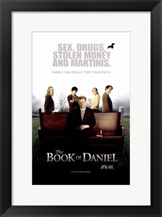 Framed Book of Daniel Print