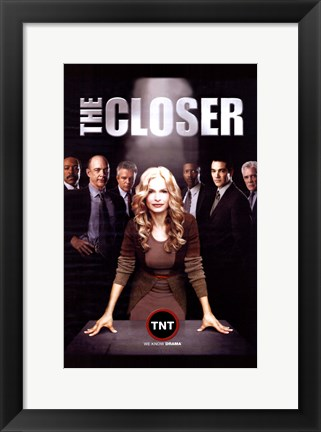 Framed Closer - TNT Print