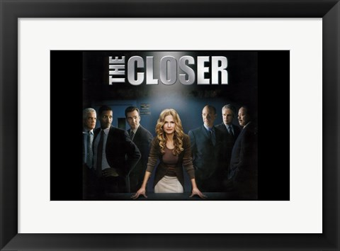 Framed Closer - characters Print