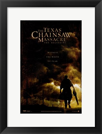 Framed Texas Chainsaw Massacre: The Beginning Print