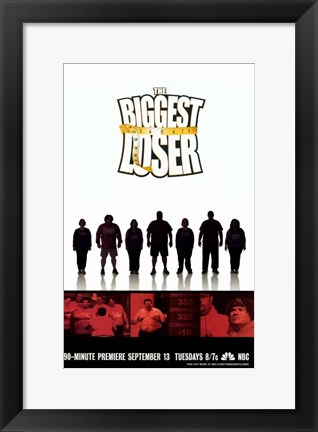 Framed Biggest Loser Print