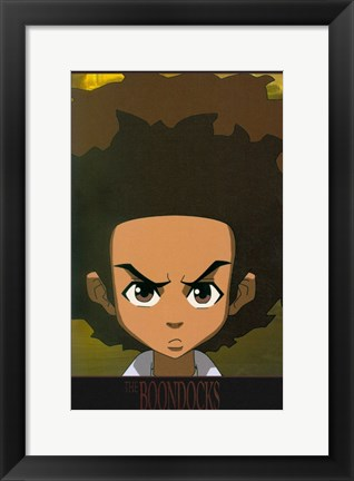 Framed Boondocks TV Series Print